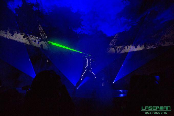 lasermanjakarta show for lazada super party on sctv l lasermanindonesia l laserman l laserman by mingworks by Laserman show - 007