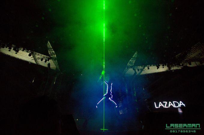 lasermanjakarta show for lazada super party on sctv l lasermanindonesia l laserman l laserman by mingworks by Laserman show - 005