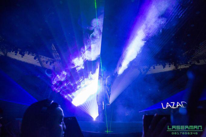 lasermanjakarta show for lazada super party on sctv l lasermanindonesia l laserman l laserman by mingworks by Laserman show - 019