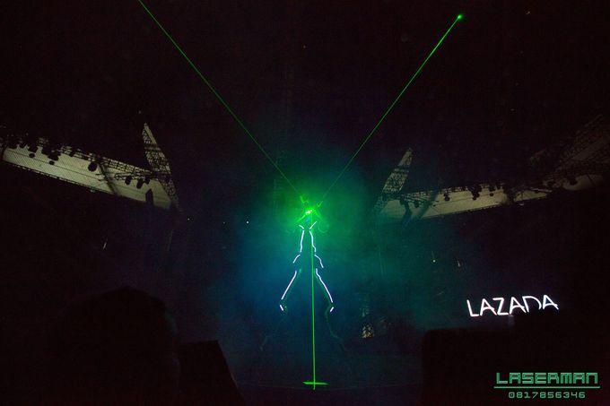 lasermanjakarta show for lazada super party on sctv l lasermanindonesia l laserman l laserman by mingworks by Laserman show - 015