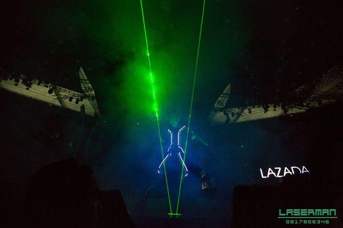 lasermanjakarta show for lazada super party on sctv l lasermanindonesia l laserman l laserman by mingworks by Laserman show - 014