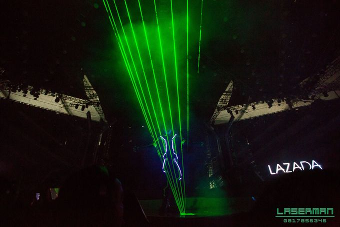 lasermanjakarta show for lazada super party on sctv l lasermanindonesia l laserman l laserman by mingworks by Laserman show - 017