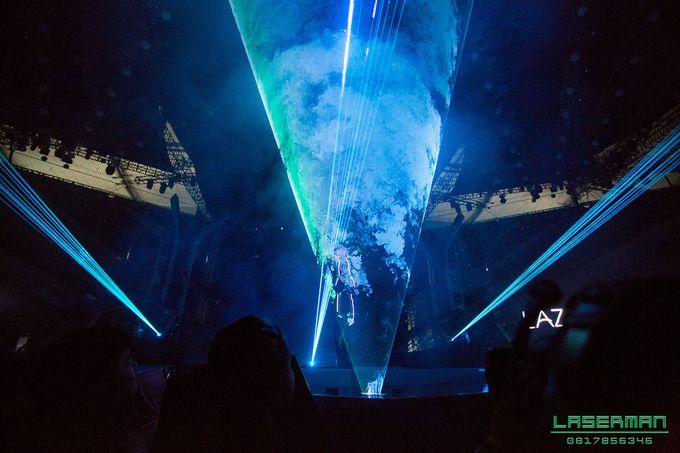 lasermanjakarta show for lazada super party on sctv l lasermanindonesia l laserman l laserman by mingworks by Laserman show - 018