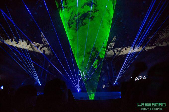 lasermanjakarta show for lazada super party on sctv l lasermanindonesia l laserman l laserman by mingworks by Laserman show - 020
