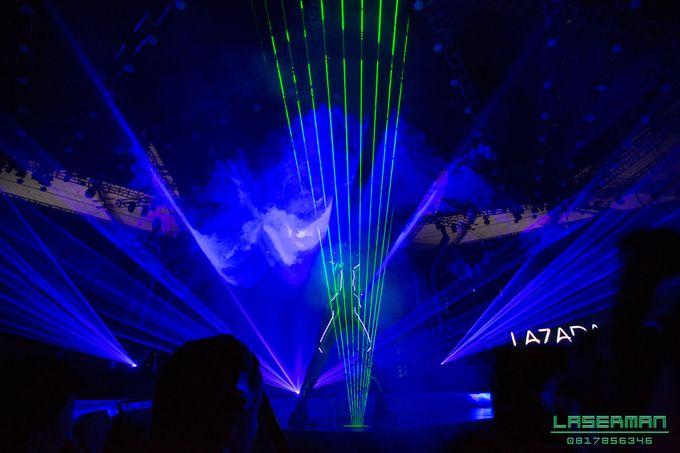 lasermanjakarta show for lazada super party on sctv l lasermanindonesia l laserman l laserman by mingworks by Laserman show - 002