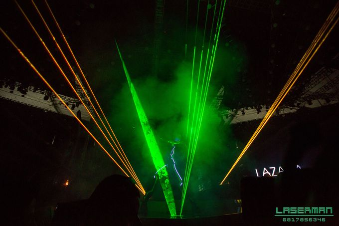 lasermanjakarta show for lazada super party on sctv l lasermanindonesia l laserman l laserman by mingworks by Laserman show - 004