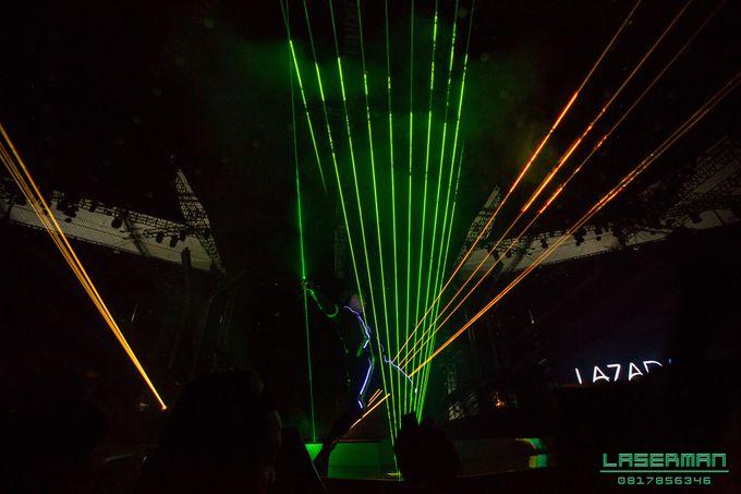lasermanjakarta show for lazada super party on sctv l lasermanindonesia l laserman l laserman by mingworks by Laserman show - 012