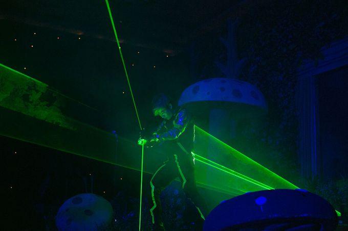 @lasermanjakarta show at mercurealamsutera by Laserman show - 007