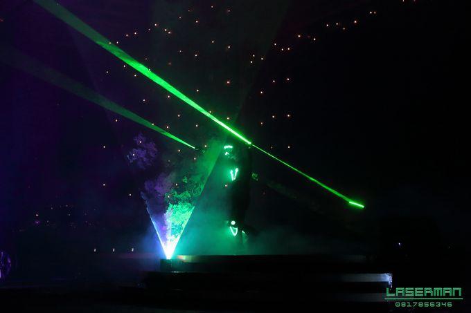 laserman indonesia l lasermanjakarta l laserman show for exquisite awards l Kempinski hotel by Laserman show - 013