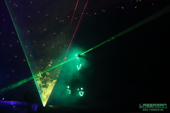 laserman indonesia l lasermanjakarta l laserman show for exquisite awards l Kempinski hotel by Laserman show - 018