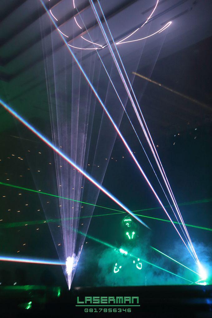 laserman indonesia l lasermanjakarta l laserman show for exquisite awards l Kempinski hotel by Laserman show - 021