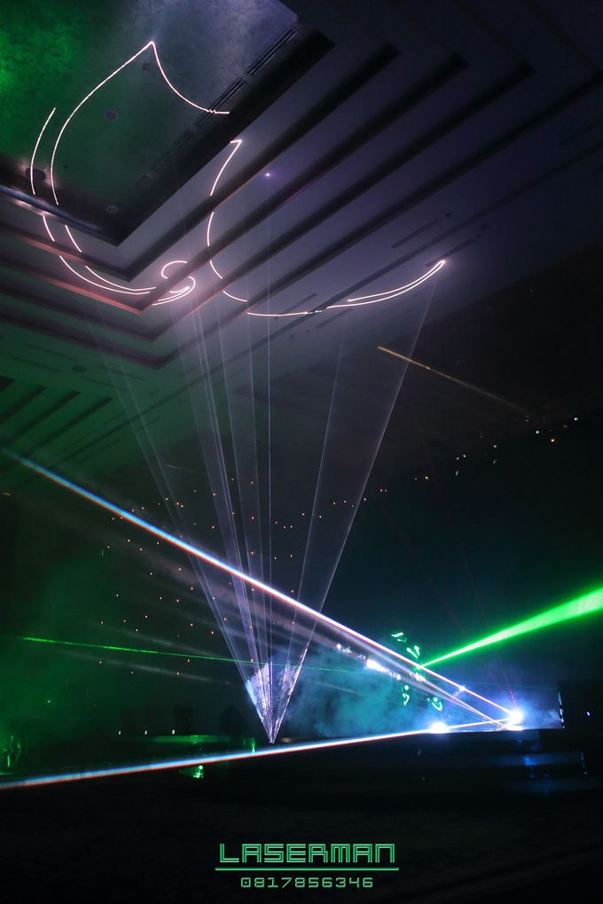 laserman indonesia l lasermanjakarta l laserman show for exquisite awards l Kempinski hotel by Laserman show - 008