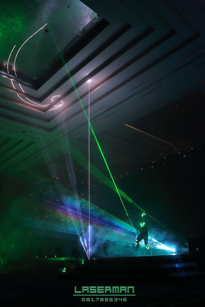 laserman indonesia l lasermanjakarta l laserman show for exquisite awards l Kempinski hotel by Laserman show - 023