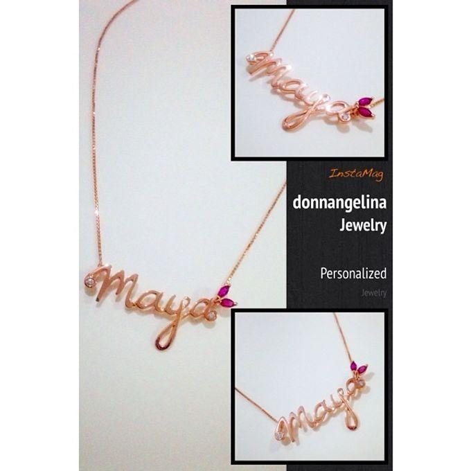 Name & Initial by DA Jewelry - 039