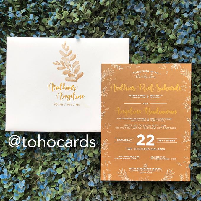 Ardhias & Angel by Toho Cards - 001
