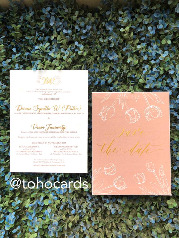 Putra & Vania by Toho Cards - 002