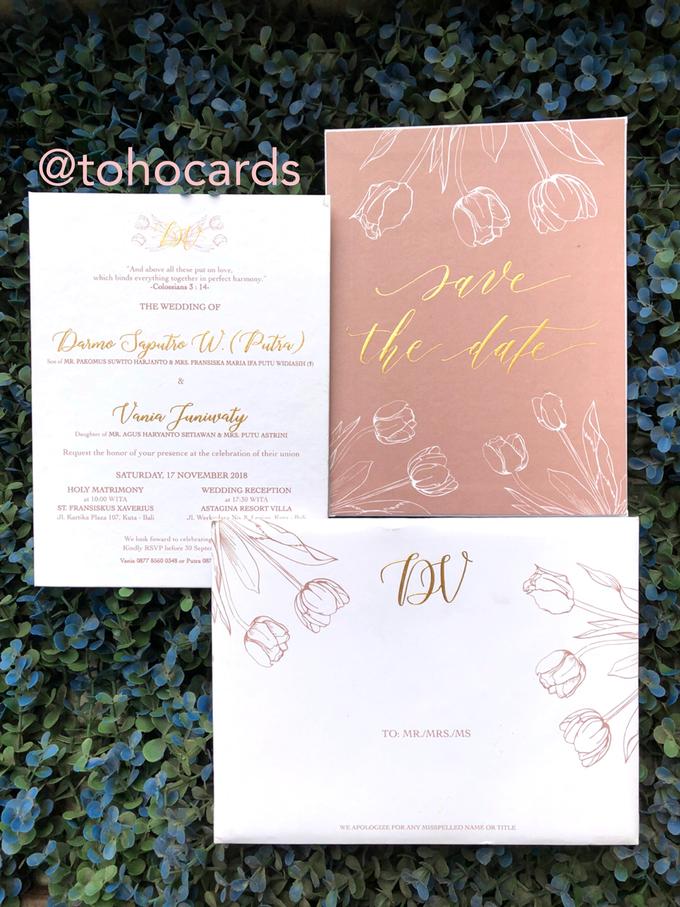 Putra & Vania by Toho Cards - 001