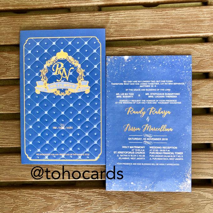 Randy & Nissa by Toho Cards - 001