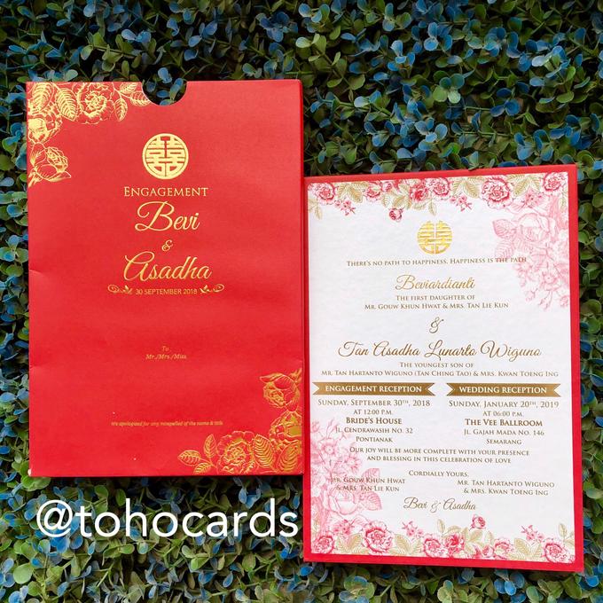 Bevi & Ashada by Toho Cards - 001