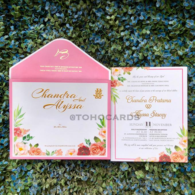 Chandra & Alyssa by Toho Cards - 001