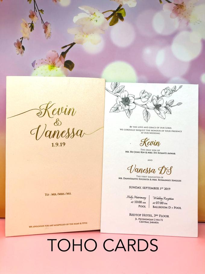Kevin & Vanessa by Toho Cards - 001