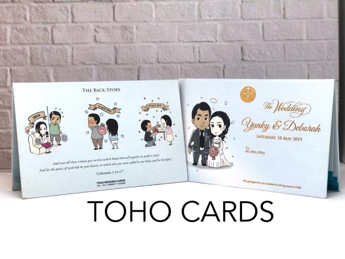 Yunky & Deborah by Toho Cards - 002