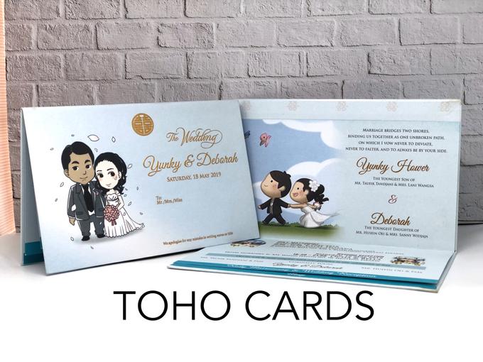 Yunky & Deborah by Toho Cards - 001