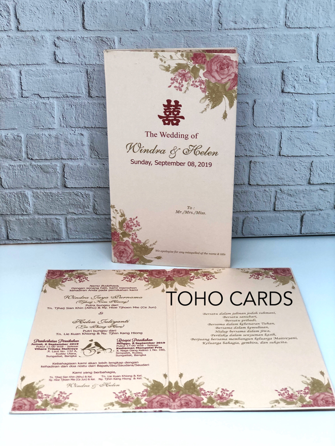 Windra & Helen by Toho Cards - 001
