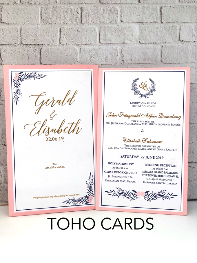 Gerald & Elisabeth by Toho Cards - 001