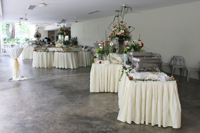 Toh Payoh Church Wedding Reception by Manna Pot Catering - 010