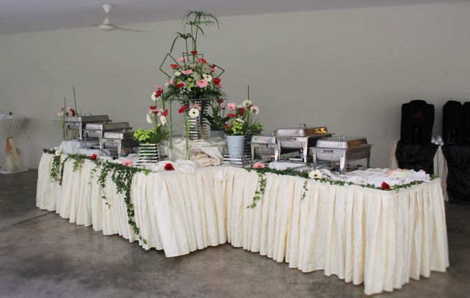 Toh Payoh Church Wedding Reception by Manna Pot Catering - 011
