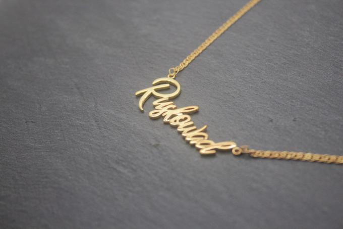 Customize necklace by Toko Emas Kesayangan - 001