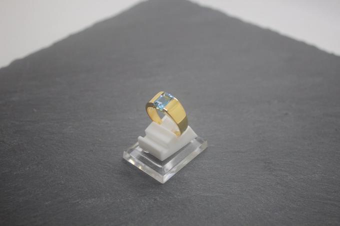 Custom mens ring by Toko Emas Kesayangan - 004