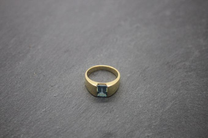 Custom mens ring by Toko Emas Kesayangan - 005
