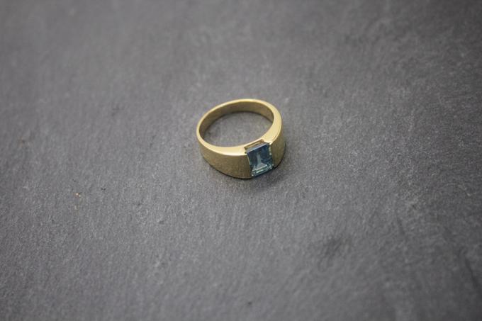 Custom mens ring by Toko Emas Kesayangan - 006