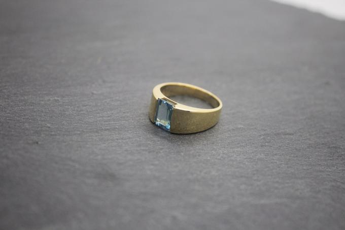 Custom mens ring by Toko Emas Kesayangan - 007