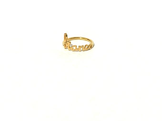 Custom name jewelry by Toko Emas Kesayangan - 004