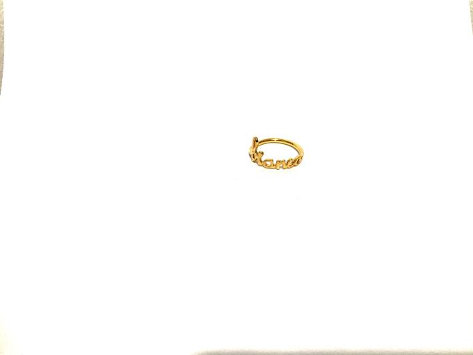 Custom name jewelry by Toko Emas Kesayangan - 005