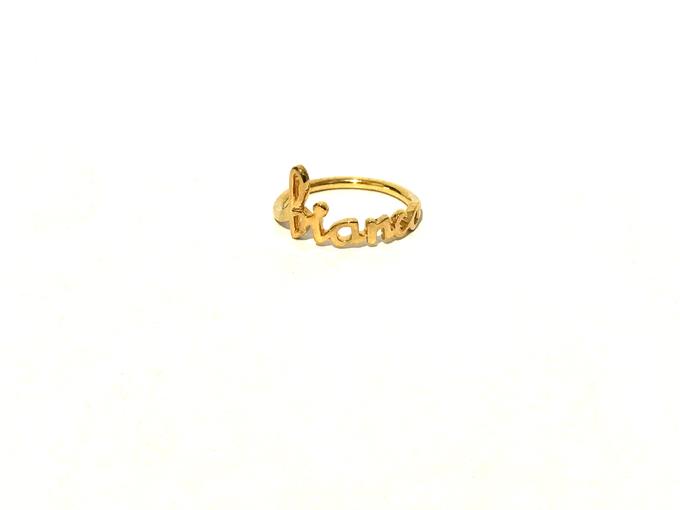 Custom name jewelry by Toko Emas Kesayangan - 003