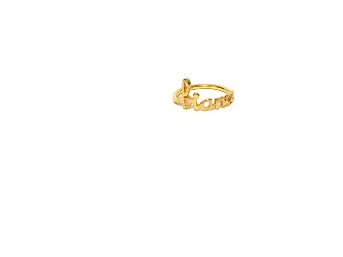 Custom name jewelry by Toko Emas Kesayangan - 006