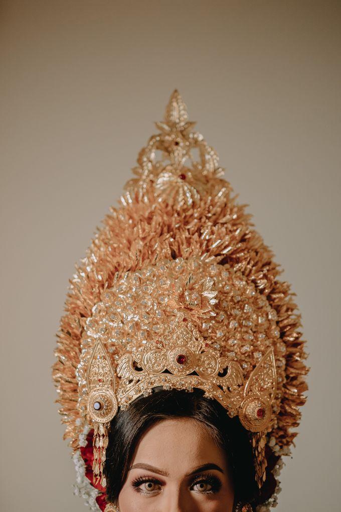 Balinese Wedding of Krishna & Bunga by Hexa Images - 028
