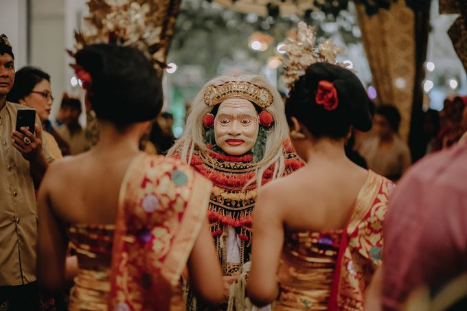 Balinese Wedding of Krishna & Bunga by Hexa Images - 029