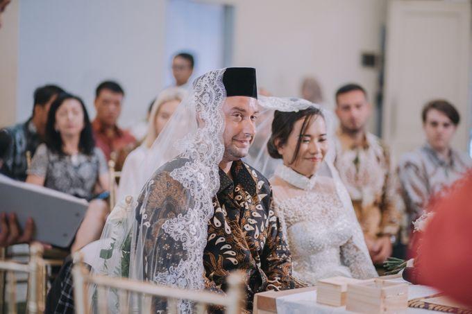 Bohemian & Rustic Simple Wedding of Heny & Luke by Abirupa Wedding Planner - 014