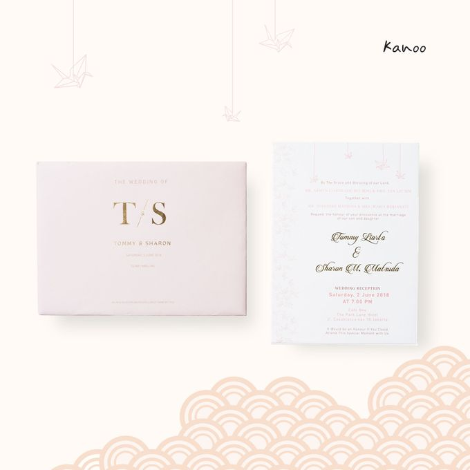 Wedding Invitation - Origami Japan by Kanoo Paper & Gift - 002