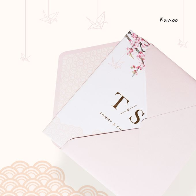 Wedding Invitation - Origami Japan by Kanoo Paper & Gift - 003