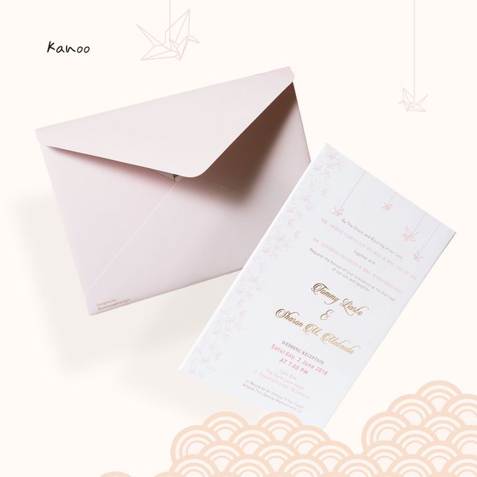 Wedding Invitation - Origami Japan by Kanoo Paper & Gift - 004