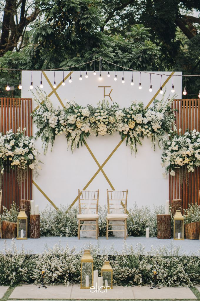 The Wedding of Tommy Kintami by Elior Design - 009