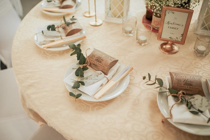 The Wedding of Tommy Kintami by Elior Design - 005