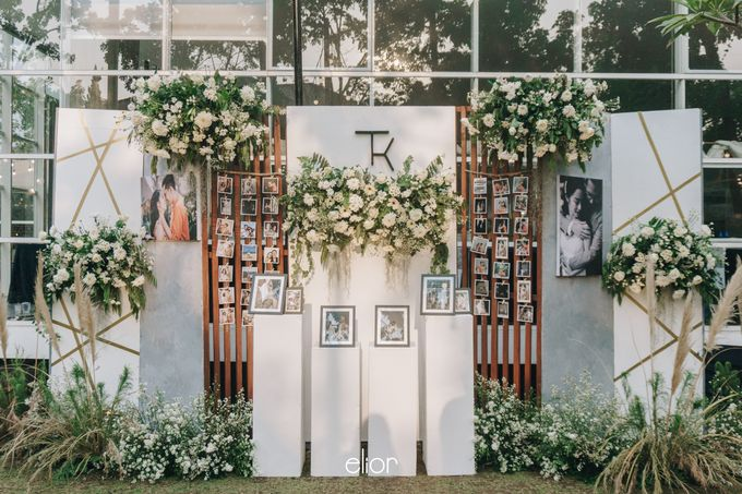 The Wedding of Tommy Kintami by Elior Design - 008
