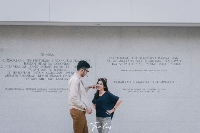 Couple Session at Lapangan Banteng - Jakarta by Too-lus - 021